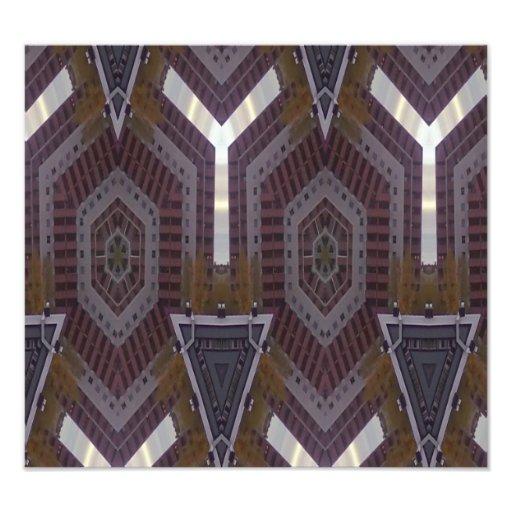 Modern abstract pattern art photo