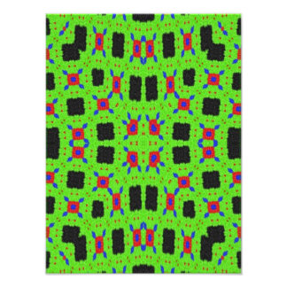 Modern abstract pattern photo print
