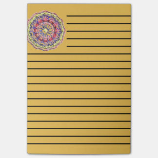 Modern abstract pattern post-it notes