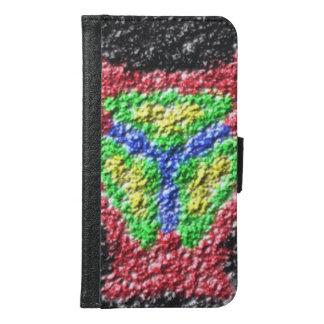 modern abstract pattern samsung galaxy s6 wallet case