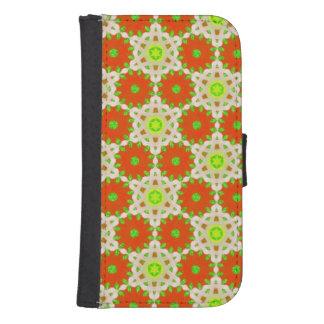 Modern abstract pattern samsung s4 wallet case