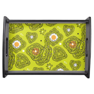 Modern abstract pattern Serving Tray. Serving Tray