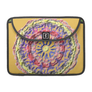 Modern abstract pattern sleeve for MacBook pro