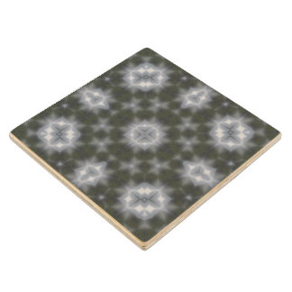 Modern Abstract pattern Wood Coaster