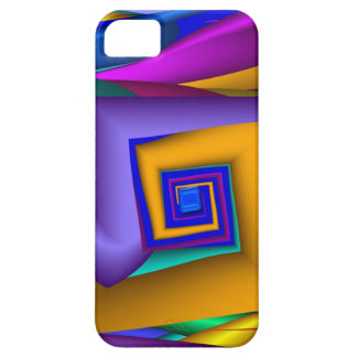 Modern abstract Square Spiral iPhone 5 case