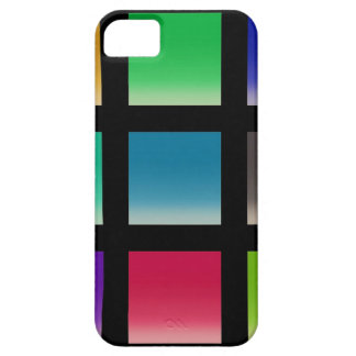 Modern Abstract Squares Pattern Barely There iPhone 5 Case