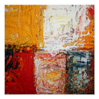 Modern Abstract Squares Print Abstract Art Posters