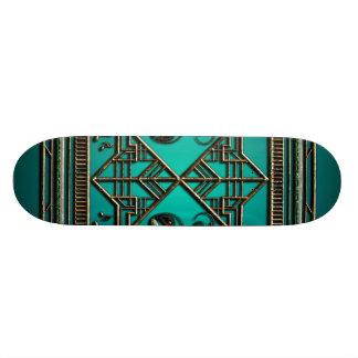 Modern abstract structure 20 cm skateboard deck