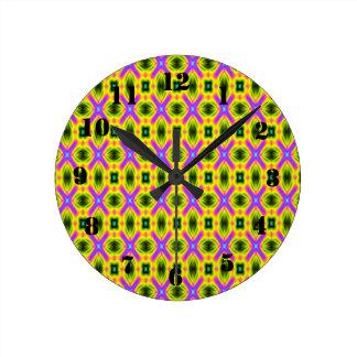 modern abstract stylish pattern wall clocks