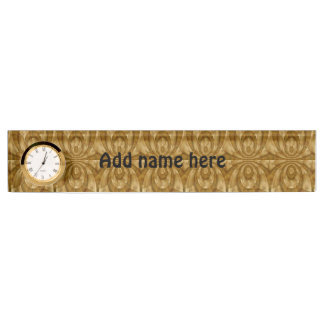 Modern abstract template nameplate