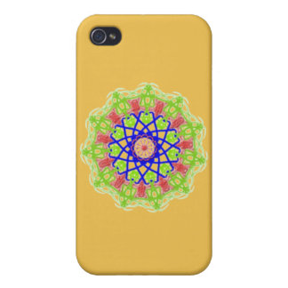 Modern abstract trendy pattern case for iPhone 4