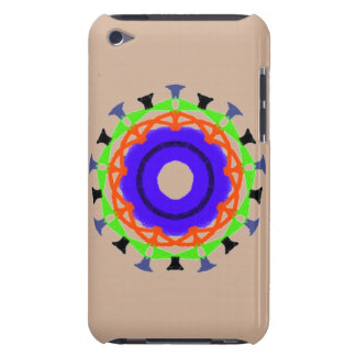 Modern abstract trendy pattern iPod touch Case-Mate case