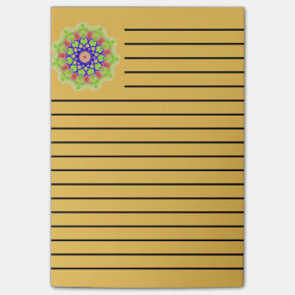 Modern abstract trendy pattern post-it notes