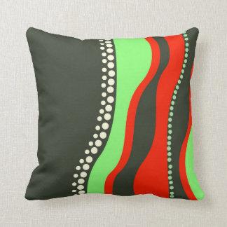 Modern Abstract Waves Cushion / Pillow