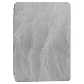 Modern Abstract White Smoke Design iPad Air Cover