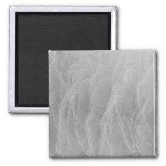 Modern Abstract White Smoke Design Magnet