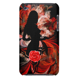 Modern adult romantic woman iPod Case-Mate case