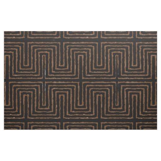 Modern African Pattern Tribal Design Fabric