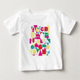 Modern Alphabet Baby T-Shirt