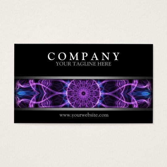 Modern Amethyst Desire Business Card
