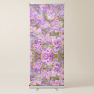 modern and abstract background retractable banner