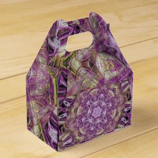 modern and abstract background wedding favour boxes