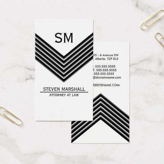 Modern and Bold Business Card