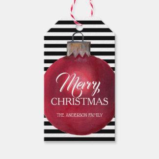 Modern and Bold Christmas Gift Tag