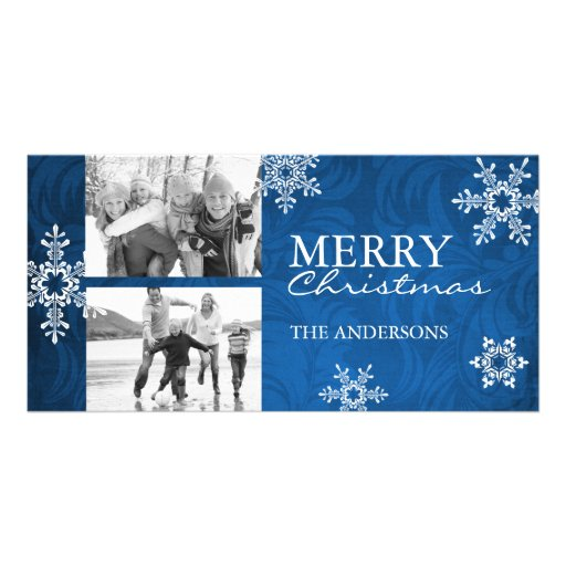 Modern and Classy Christmas Photo Card Template