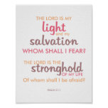 Modern and Colourful Bible Verse Poster