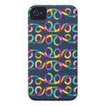 Modern and Colourful Loop Design iPhone 4 Cases