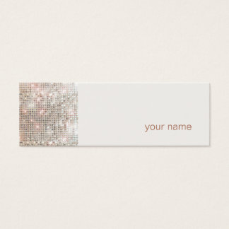 Modern and Hip Mini Profile Business Card