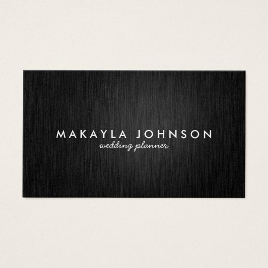 Modern and Minimal Professional Black & Gold Business