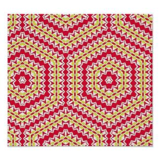 Modern and trendy pattern art photo