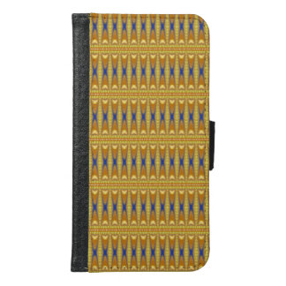 Modern and trendy pattern samsung galaxy s6 wallet case