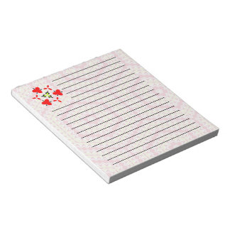 Modern and trendy unique pattern notepad