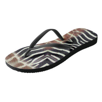 Modern Animal - Abstract Designed Flip Flops