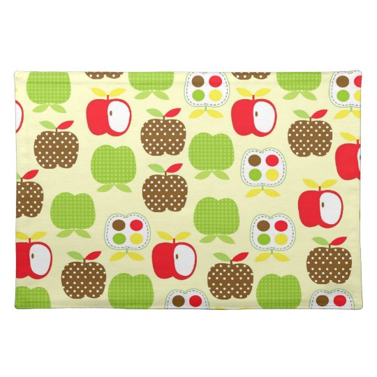 Modern Apple Placemats
