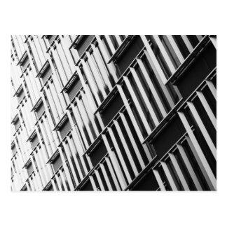 Modern architectural patterns postcard