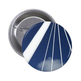 Modern architecture 6 cm round badge