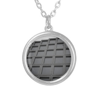 Modern Architecture in London Silver Plated Necklace
