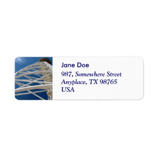 Modern Architecture Return Address Label