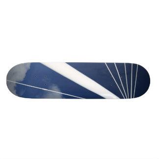 Modern architecture skateboard decks