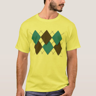 Modern Argyle T-Shirt