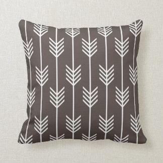 Modern Arrow Fletching Pattern Coffee Cushion