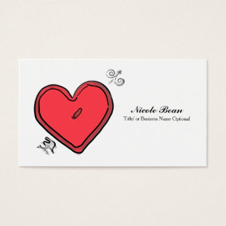 Modern Arrow & Heart Valentine's Love Chic