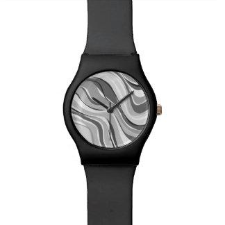 Modern Art Abstract Pattern Watch