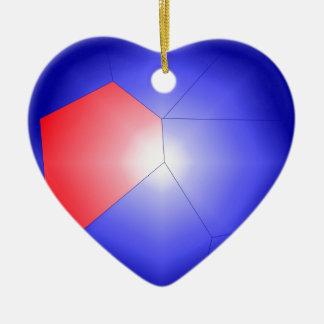 Modern Art Ceramic Heart Decoration