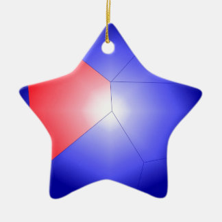 Modern Art Christmas Ornament