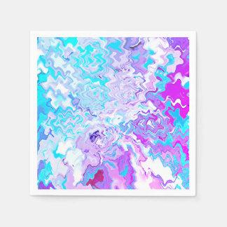Modern Art Cocktail Paper Napkins